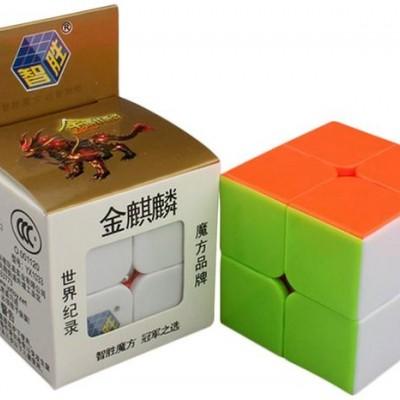 Кубик рубик 2х2 Zhisheng YuXin QILIN 50x50 mm