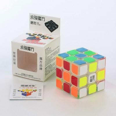 Кубик рубик 3x3 Yongjun Sulong светящийся