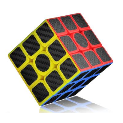 Кубик рубик 3x3 Lefun Huansu 56mm with black carbon