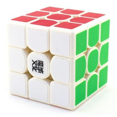 Кубик рубик 3x3 MoYu WEILONG GTS Premium белый