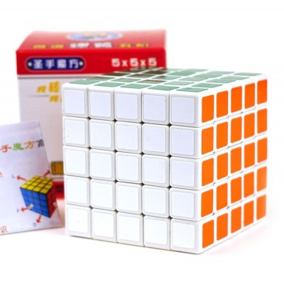 Кубик рубик 5x5 ShengShou white