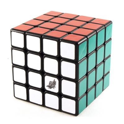 Кубик рубик 4х4 Cyclone Boys Jisu G4 black 60 mm (черный)