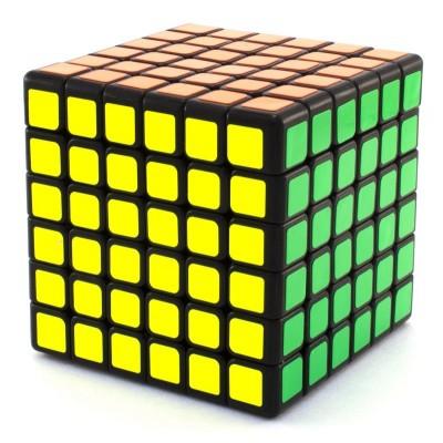 Кубик рубик 6x6 YJ Guanshi black