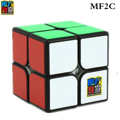 Кубик рубик 2х2 MoYu MF2 black (черный)