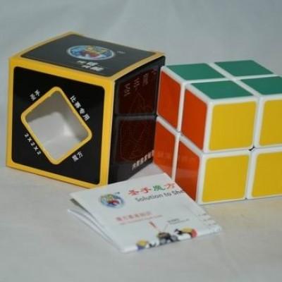 Кубик рубик 2х2 Shengshou 5.0cm (PVC sticker) white (белый)